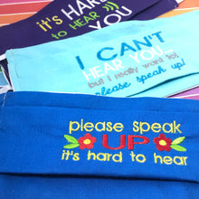 Hearing Loss Helps - Simple 4x4 Designs to add to fabric masks