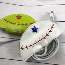 Baseball or Softball Stay On Cord Wrap ITH Snap Project 4x4