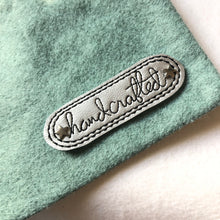 Hand-Crafted lettering Mini Patch embroidery design