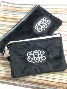 Monogram Frame Bag Fully Lined Zipper Bags for your 5x7 and 6x10 hoops