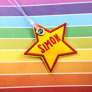 Blank Shield and Star Tags 2 Styles 4x4 Friendly