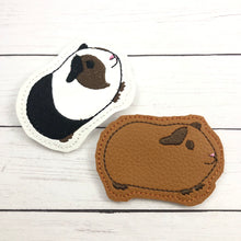 Guinea Pig Feltie In the Hoop embroidery design