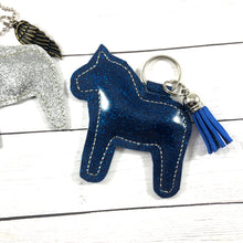 Stuffed Horse SINGLE Dangle Tag