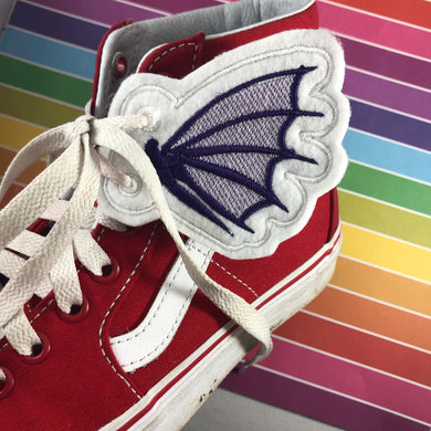 Dragon Wings Shoe Wings embroidery design