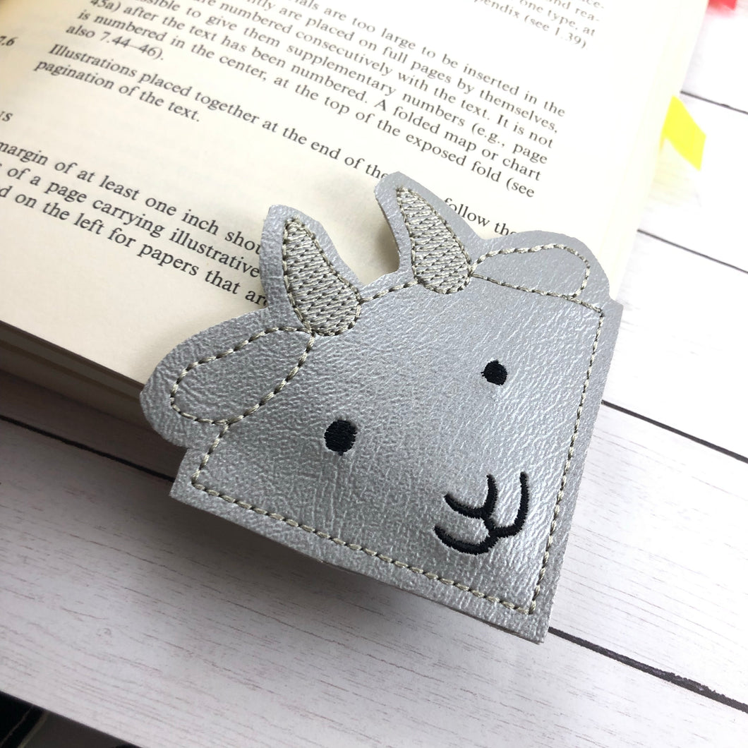 Goat Corner Bookmark Design