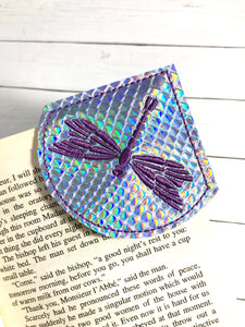 Dragonfly Corner Bookmark Design