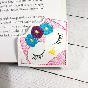 Owl Corner Bookmark Design