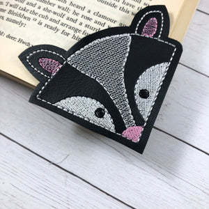 Skunk Corner Bookmark Design