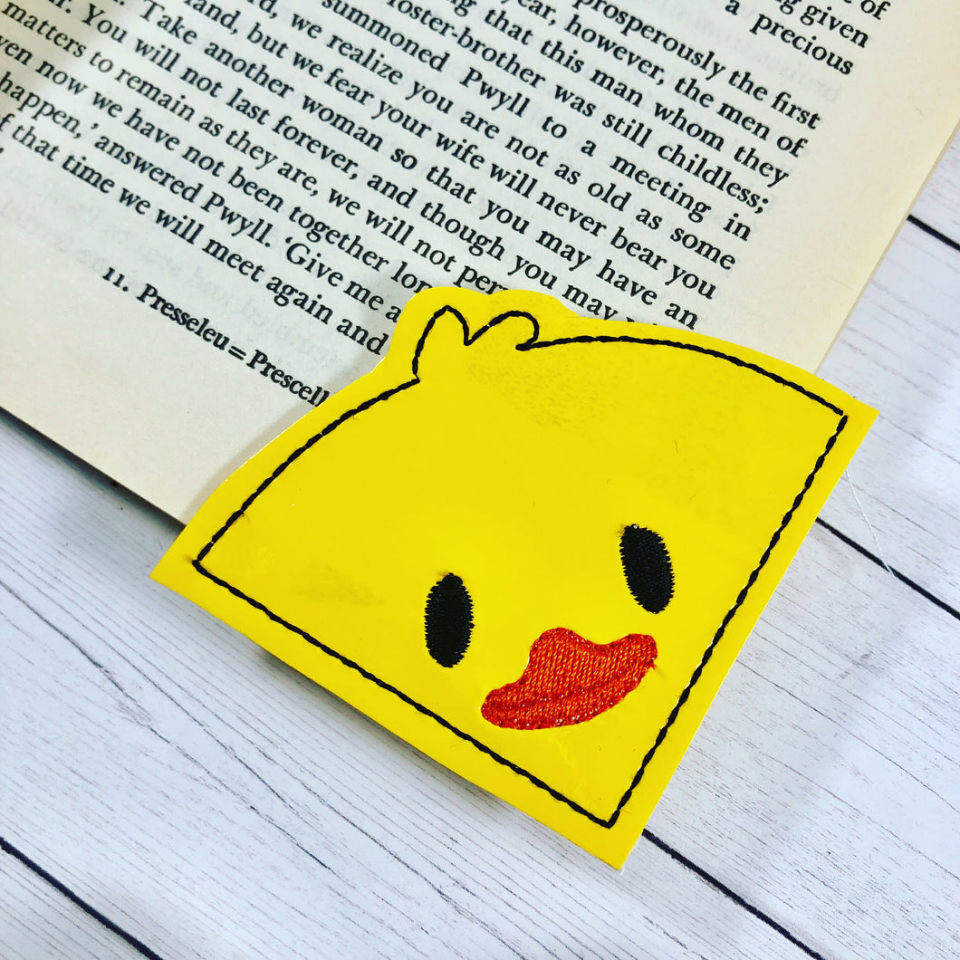 Duck Corner Bookmark Design