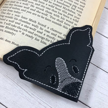Border Collie Corner Bookmark Design