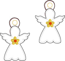 Mini Angel Eyelet Tag 4x4 and 5x7