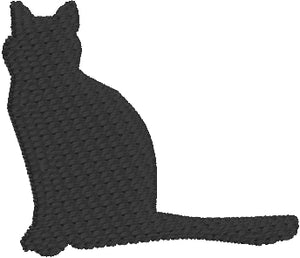 Mini Cat embroidery design