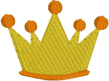 Mini Crown embroidery design