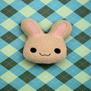 Bunny Face Stuffed Animal In the Hoop Embroidery Design