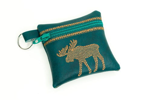 Moose Zipper Pouch 4x4