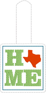 Texas HOME Snap Tab 4x4 and 5x7