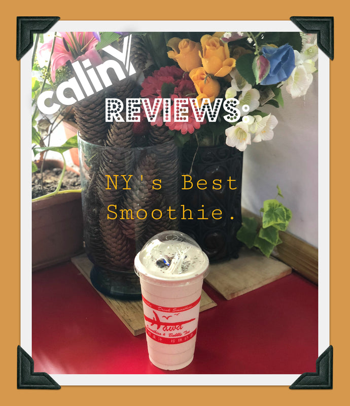 calinY Reviews: Hawa's Island Coconut is New York's Best Smoothie