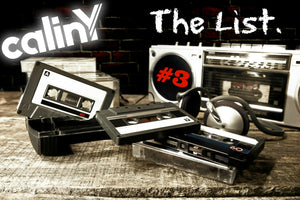 calinY music the list #3