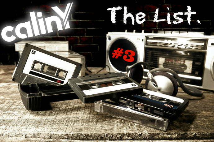 calinY music - the list (#3)