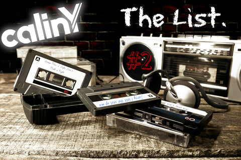 calinY music the list 2