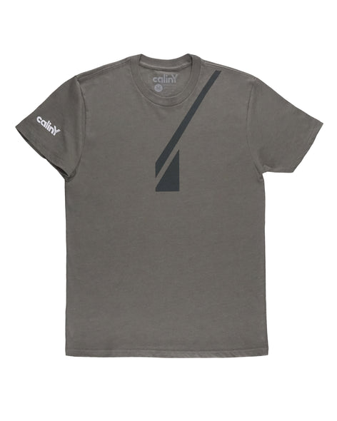 fleet logo tee - grey.