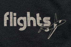 calinY flights tee graphic