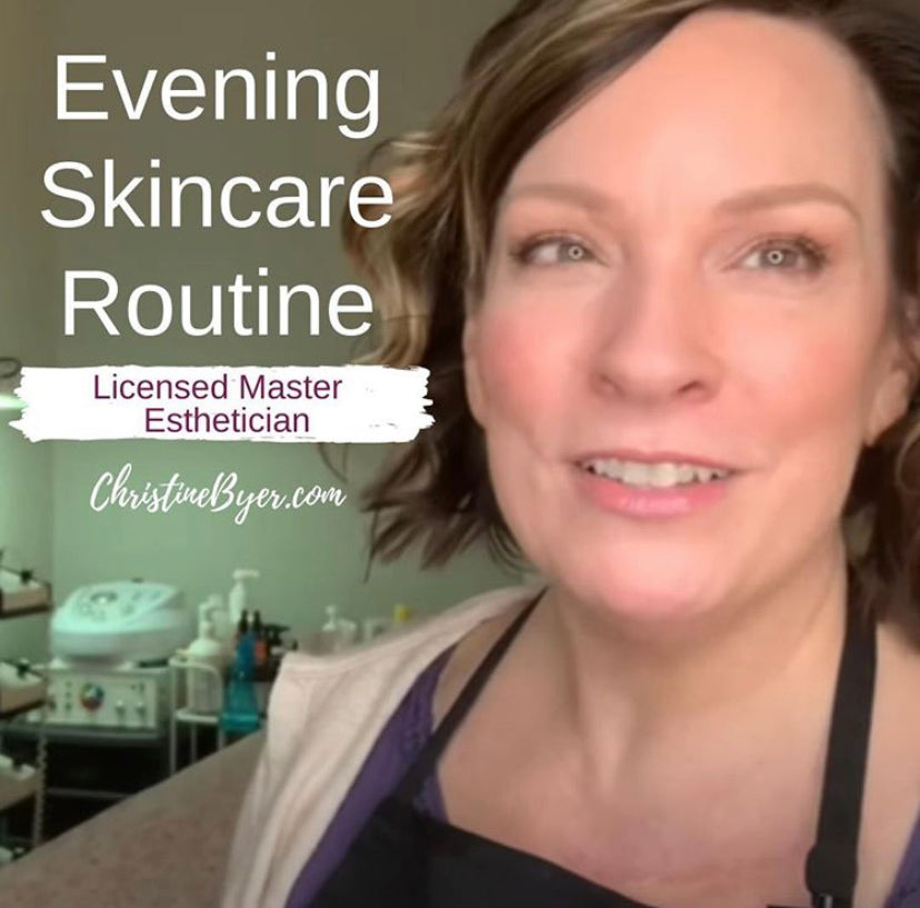 Evening Skincare Routine with NeoGenesis + Sculplla