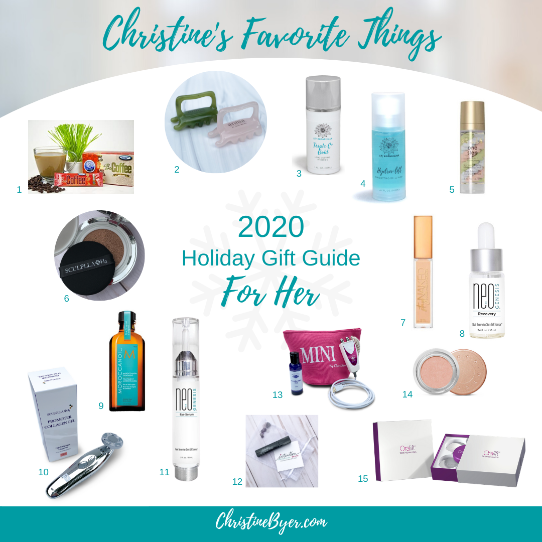 Christine's Favorite Things/Holiday Gift Guide For Her
