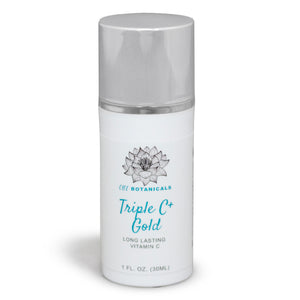Triple C + Gold = Long Lasting Vitamin C