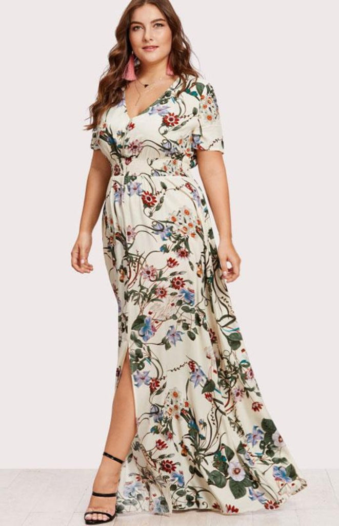 PLUS SIZE Lohana Maxi Dress