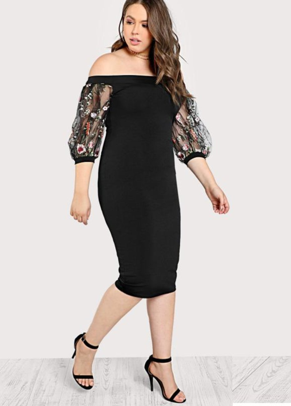 b565a851a2b PLUS SIZE Tiana Bodycon Dress