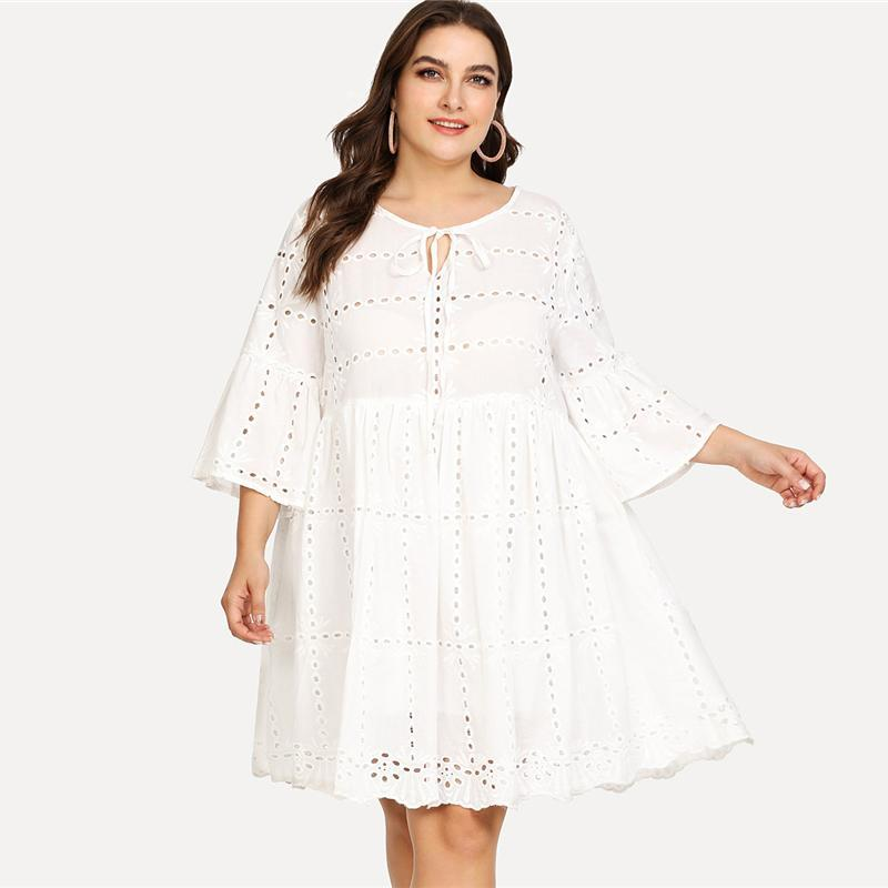 PLUS SIZE Young Hearts Dress