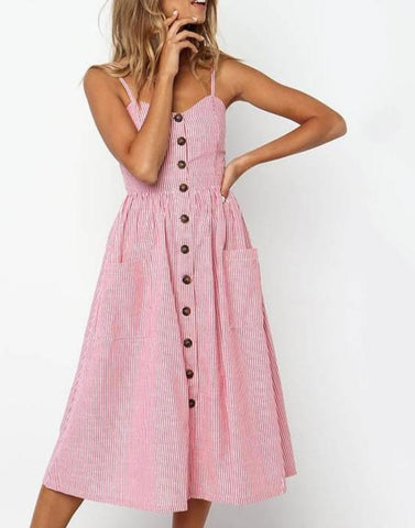 Kalani Boutique Pink / S MARLOW Dress