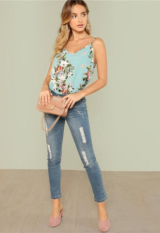 Kalani Boutique Tops CORA Cami Top
