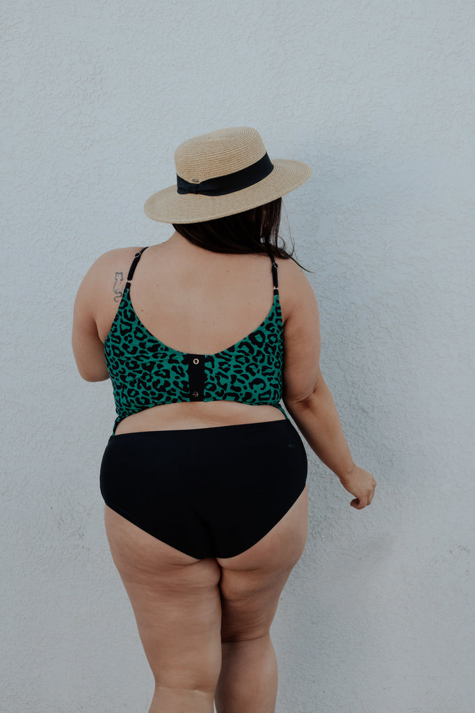 The Sailor | Green Leopard Print