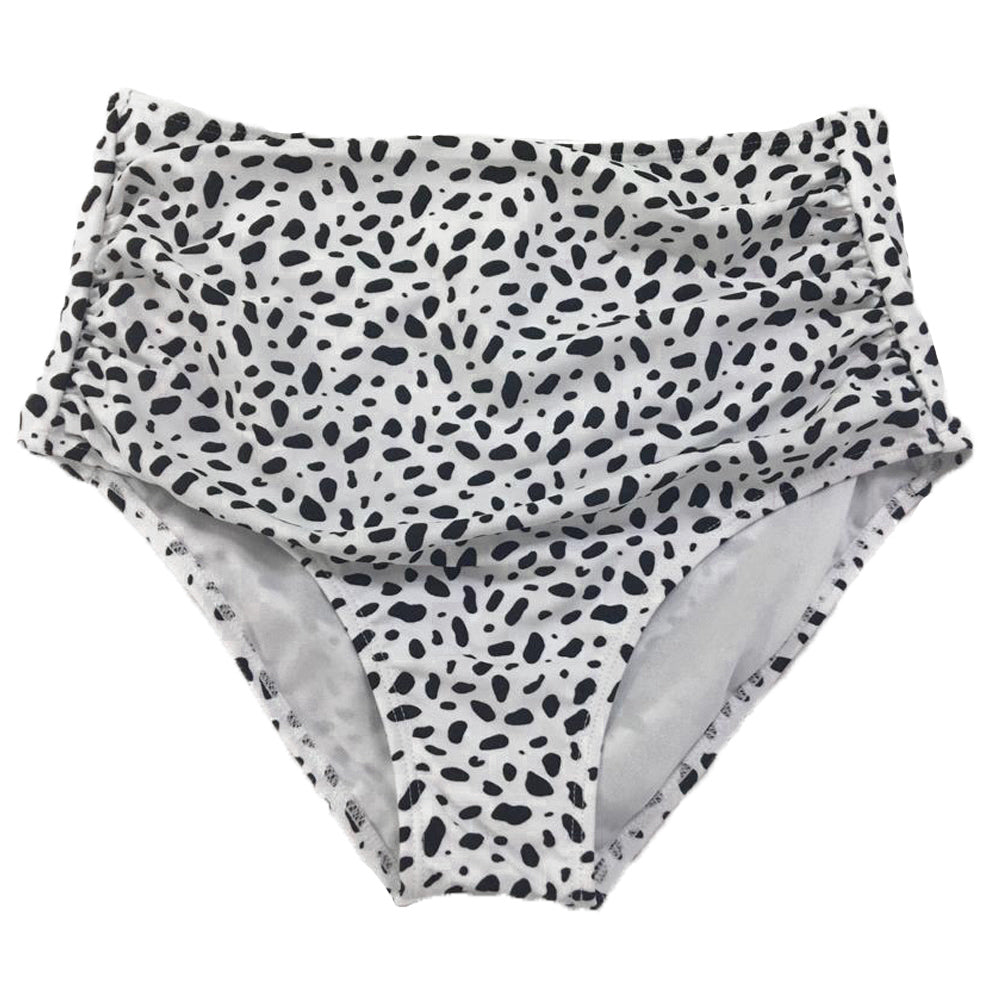 Barefoot Bottom | White Animal Print