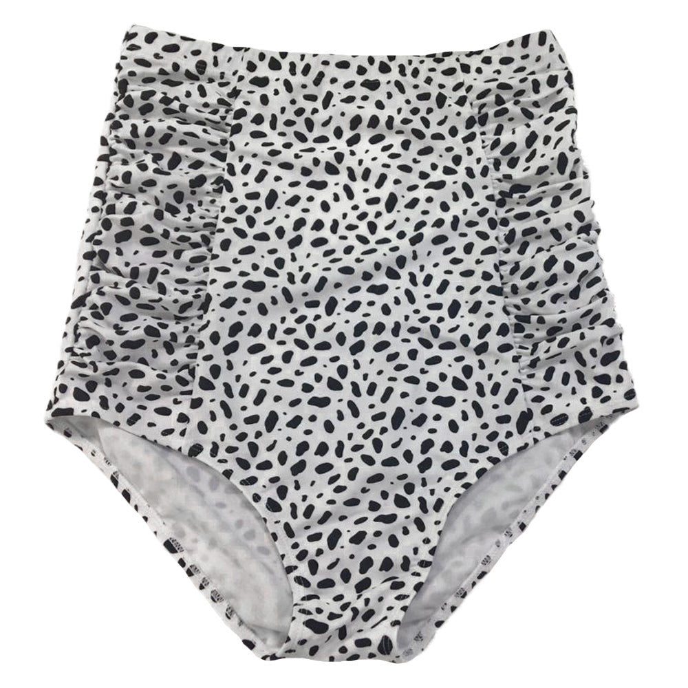 Sun Baked Bottoms | White Animal Print