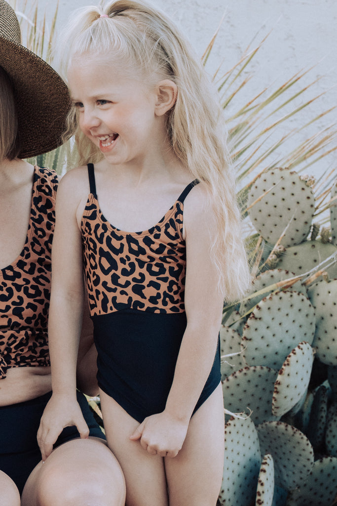 The Mini Sailor | Leopard Print