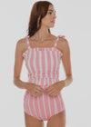 Candy Stripe Top | Pink & White Stripes