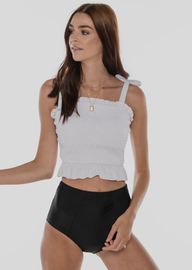 Bayside Top | White