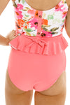 Cabana Reversible Bottoms | Watermelon/Floral