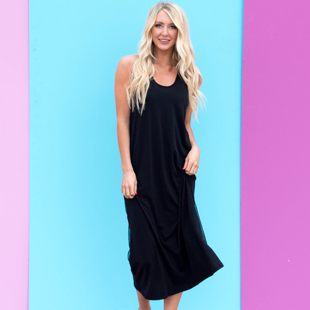 Vitamin Sea | Black Maxi