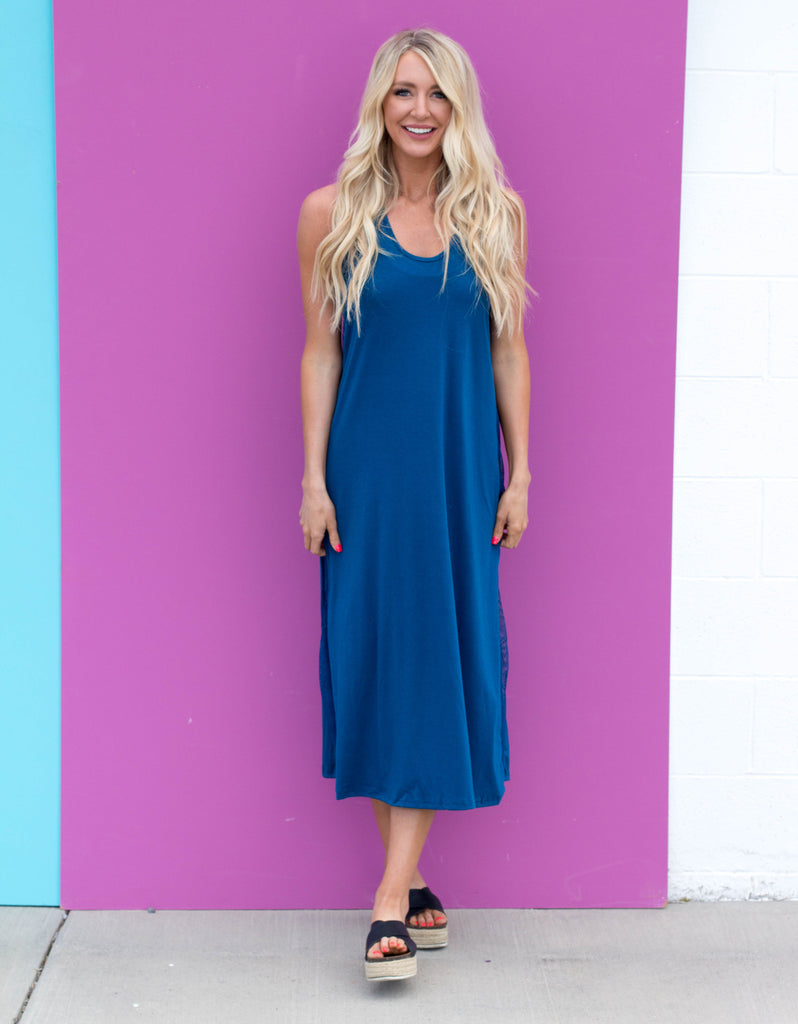 Vitamin Sea | Teal Maxi