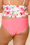 Breeze Reversible Bottoms | Watermelon/Floral