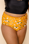 Nori Reversible Bottoms | Mango/Floral