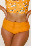 Lush Reversible Bottoms | Mango/Floral