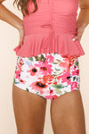 Sun Baked Bottom | Pink Floral