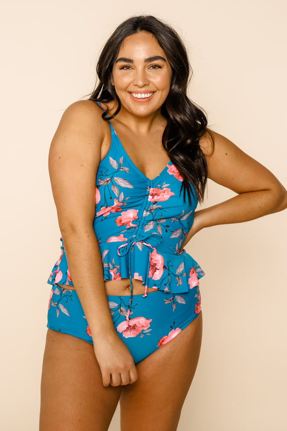 Phi Phi Top | Blue Floral