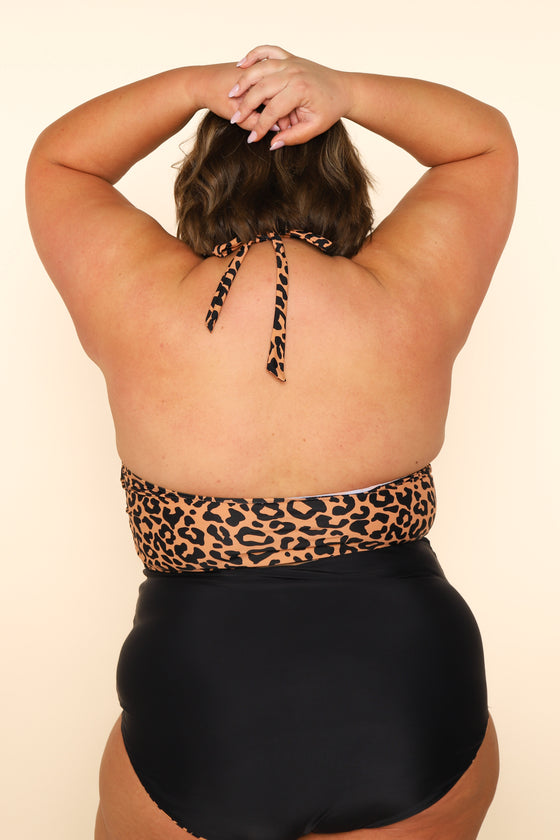 The Racha Top | Leopard Print