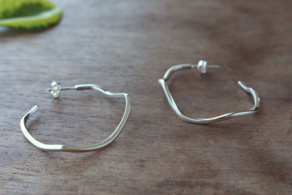 LA SEBASTIANA HARU RECYCLED SILVER 925 WITH GLOSSY FINISH Earrings